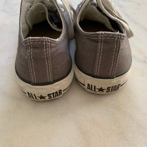 Converse Shoes - Grey Allstar Converse Sneakers